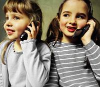 Дайте ребёнку телефон
